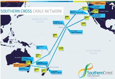 阿尔卡特承接澳洲-美国NEXT海底光缆系统
