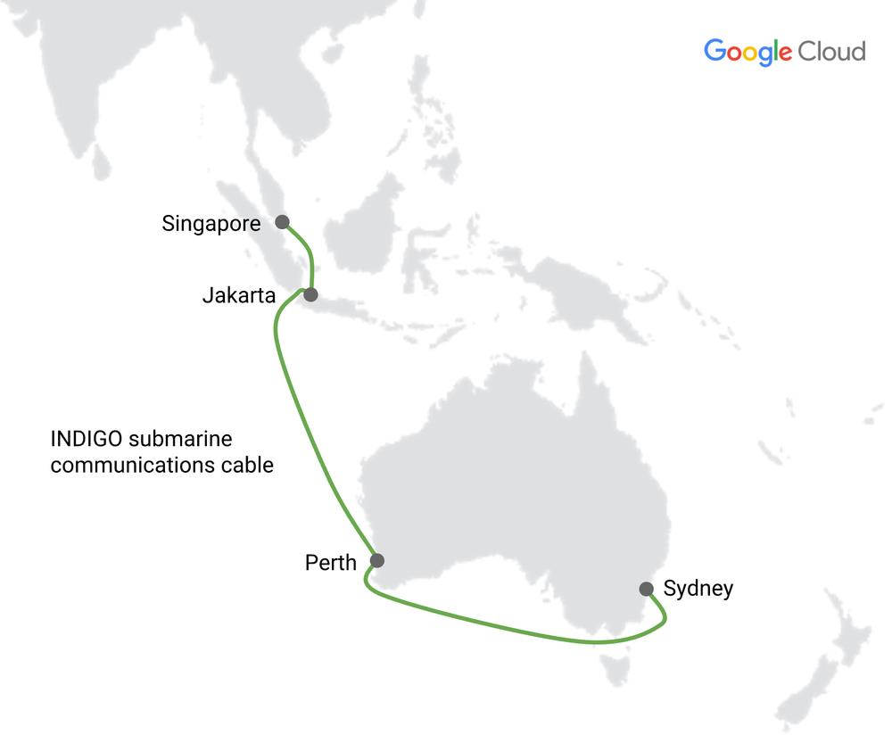 澳洲-印尼-新加坡海底光缆Indigo即将投产