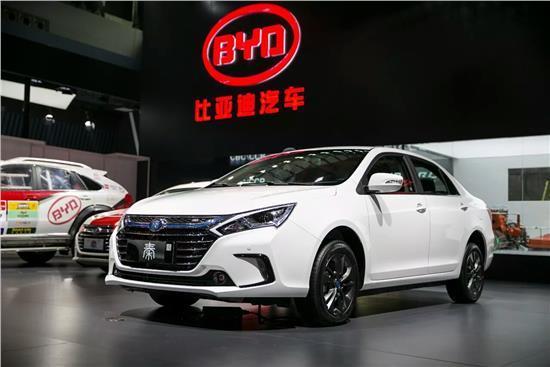 比亚迪前5月新能源汽车销量近12万辆 同比增106%