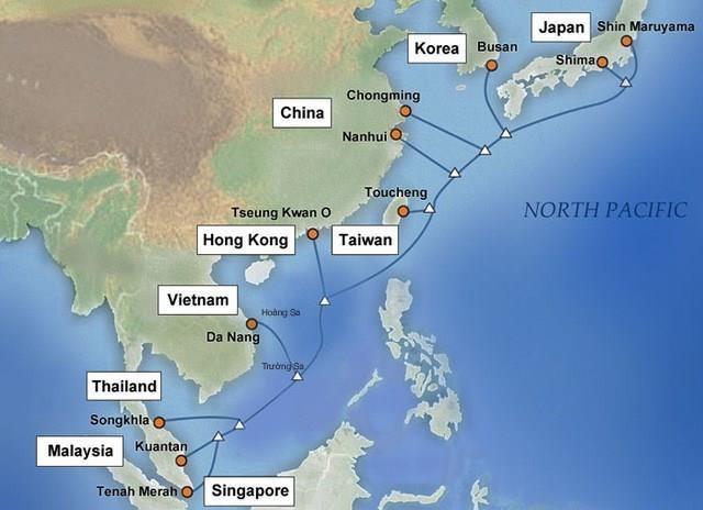APG海底光缆系统越南段完成修复