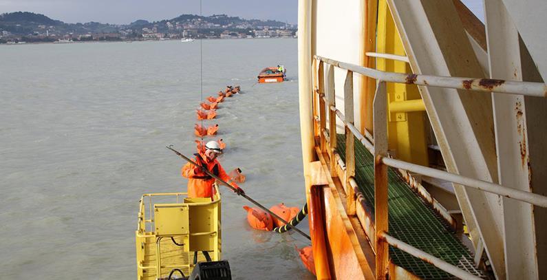 黑山-意大利海底电力电缆完工 拟于年底投产