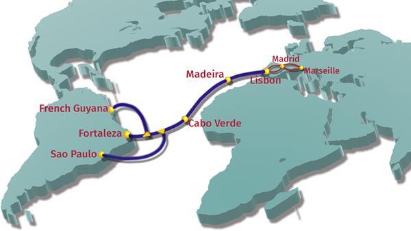 毛里塔尼亚正式加入EllaLink海底光缆系统