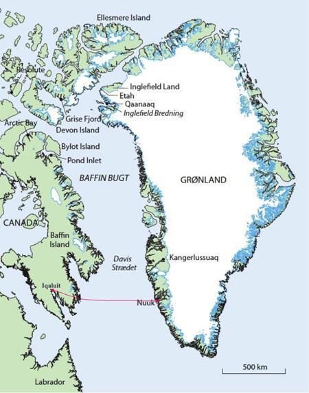加拿大政府出资支持努勒维特-格陵兰岛海缆系统