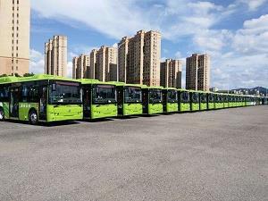 交通运输部:多地新能源公交车占比接近九成