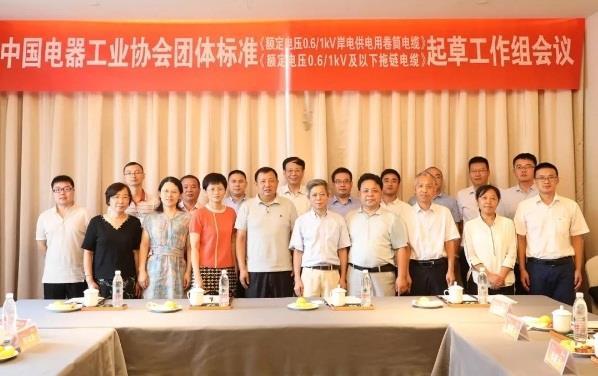 远东电缆承办两项电缆团体标准起草工作会议举行