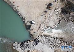 中企投建的巴基斯坦SK水電站工程成功截流