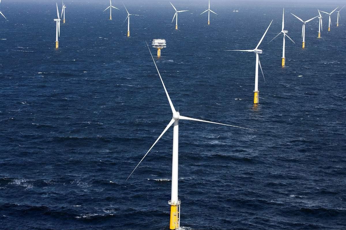 福州市长乐区外海将建大型海上风电场