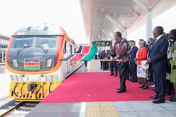 肯尼亚内马铁路一期建成通车 中国交建承建