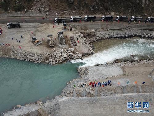 中企投建巴基斯坦苏基克纳里水电站工程成功截流