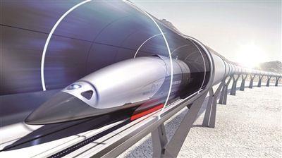 """500公里时速超级高铁明年或出""""设计图"""""""