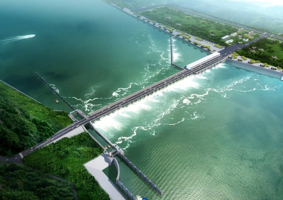 硬梁包水电站开工建设 总装机容量达111.6万千瓦