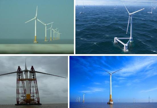 我国研发风轮直径超200米海上风电机组