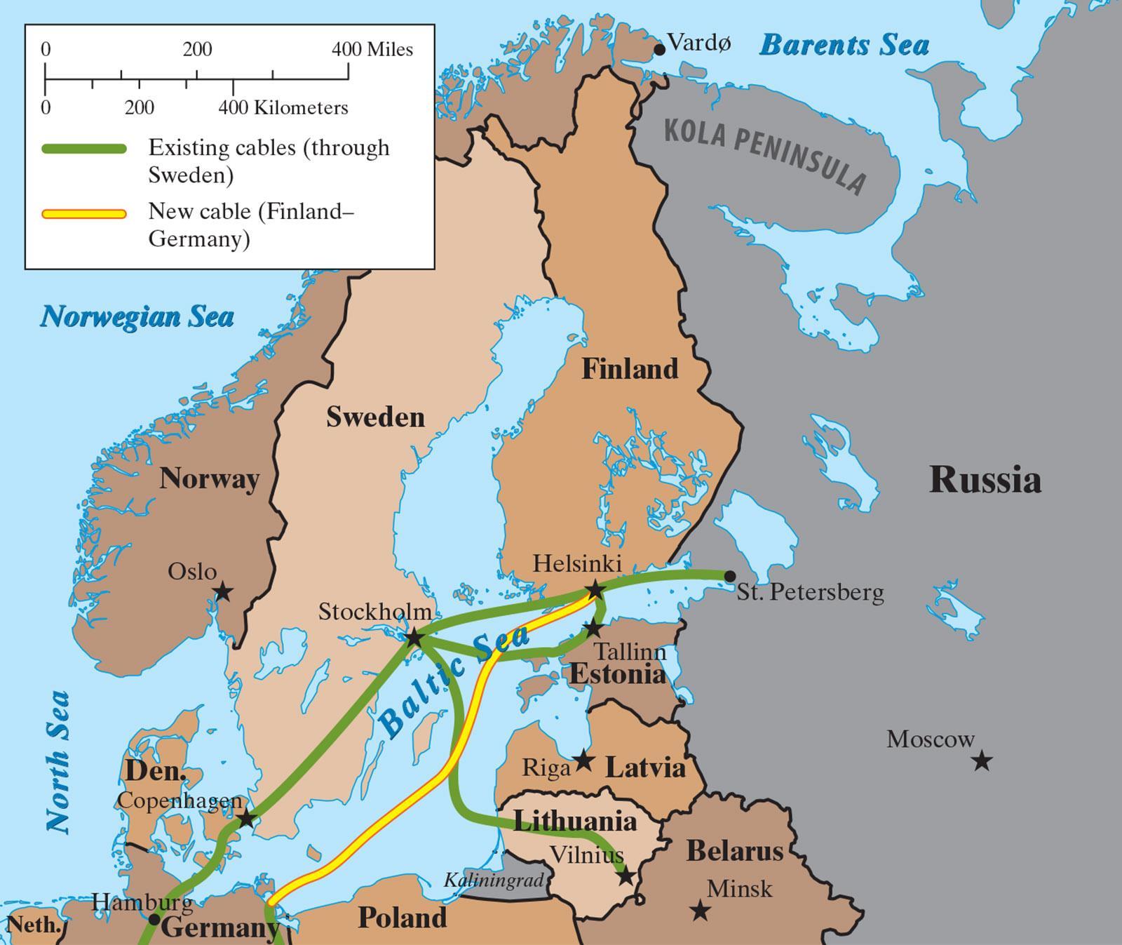 挪威即将启动海底光缆系统招标 补贴7676万元