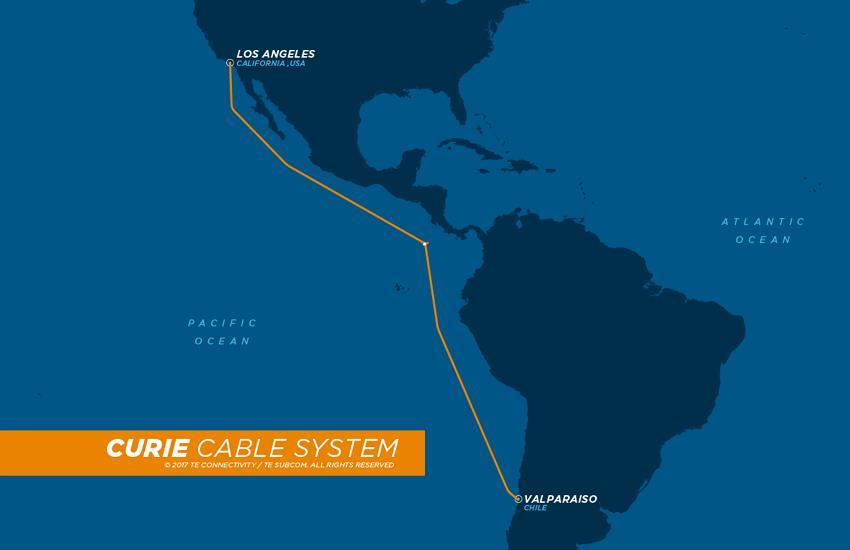 美国-智利海缆Curie完成安装测试 于明年二季度投运