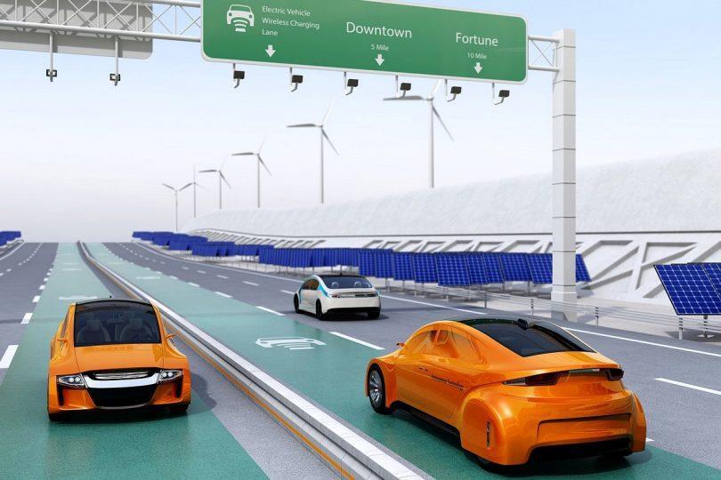 2020-27全球电动汽车无线充电市场年复合增46.8%