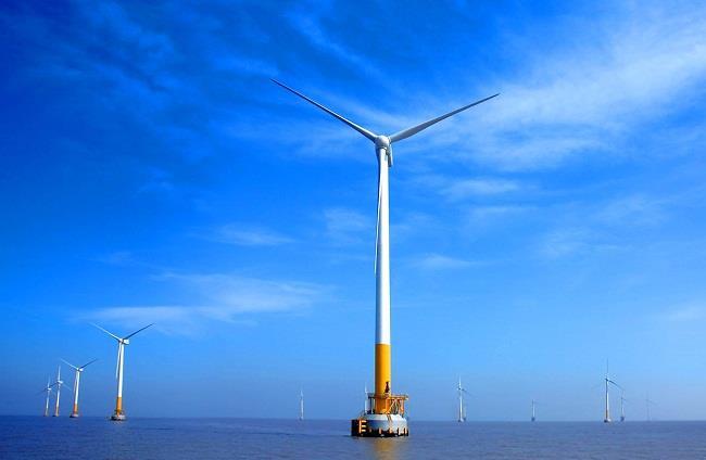 江苏海上风电项目完成年度建设目标