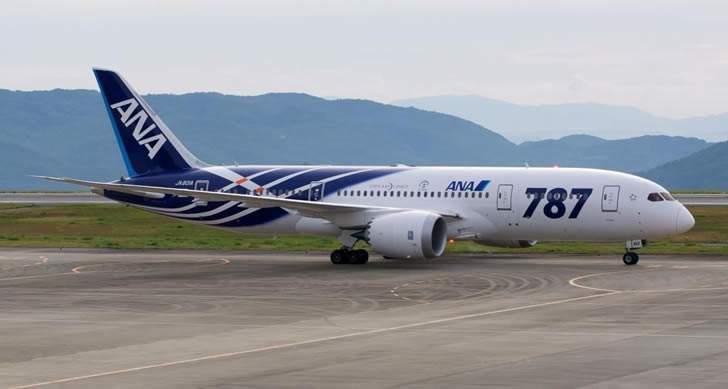 中国订单大减 2020年波音787客机或减产
