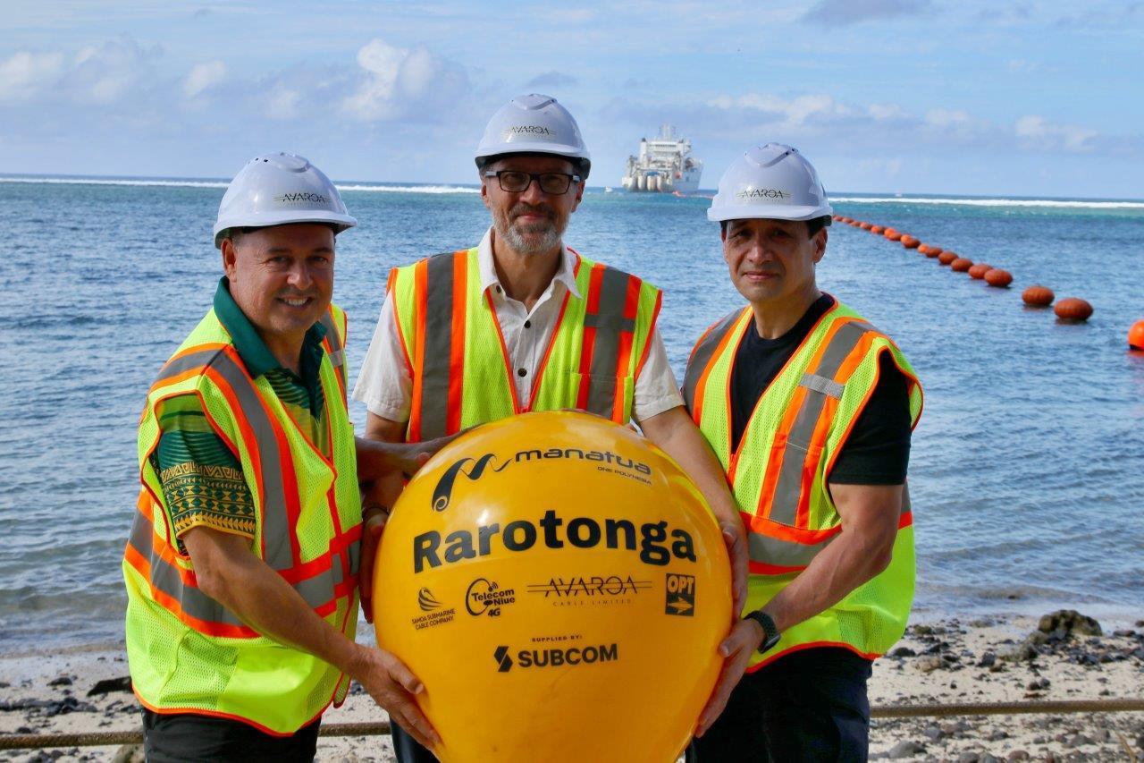 南太平洋海底光缆Manatua顺利登陆拉罗汤加岛