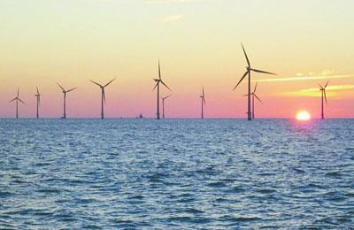 德国北海海上风电2019年发电量提高两成