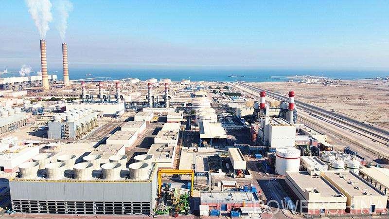 中企承建科威特阿祖南三期电站项目顺利并网