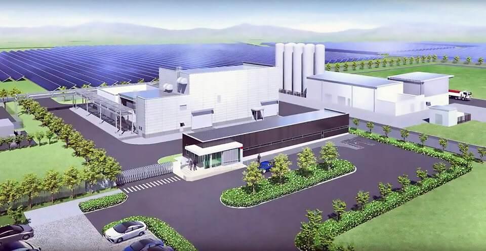 日本福岛已完工世界最大绿色氢气项目