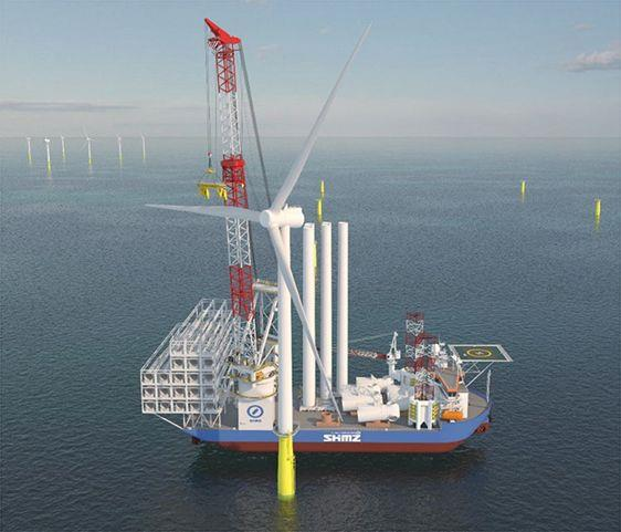 ABB获日本首艘自升式风电安装船电力系统订单