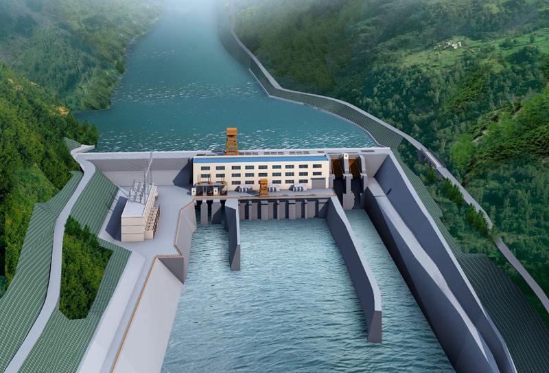 云南里底水电站工程正式复工