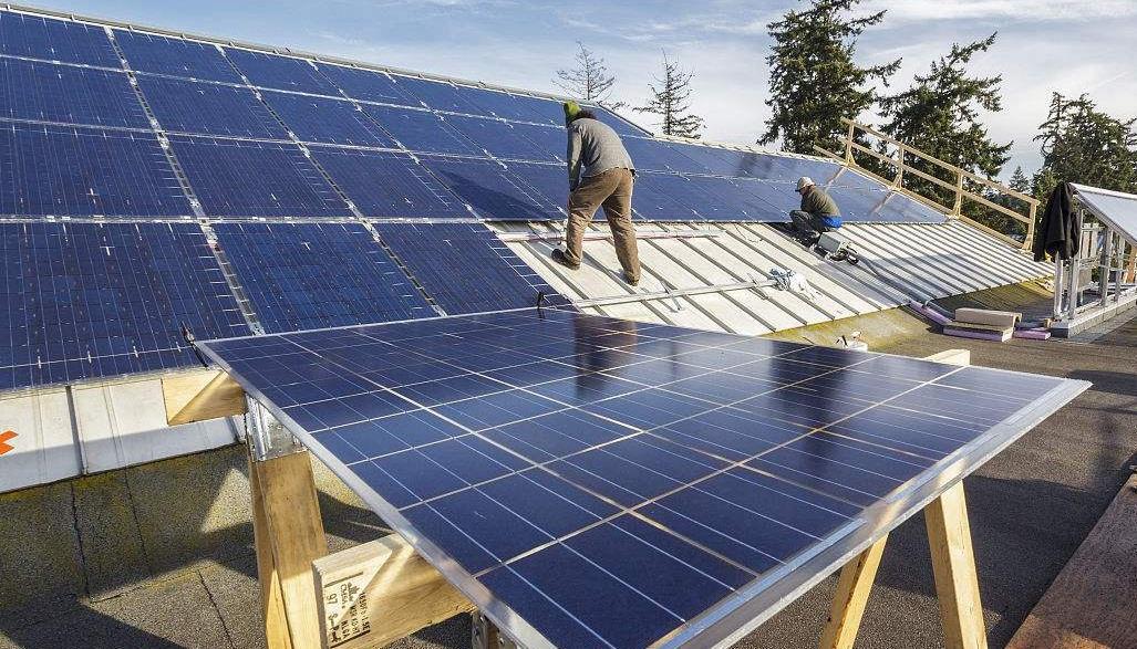 2019年瑞典增并网太阳能287MW