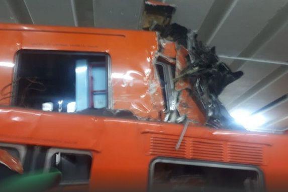 墨西哥地铁相撞事故致1死41伤 系人为失误造成