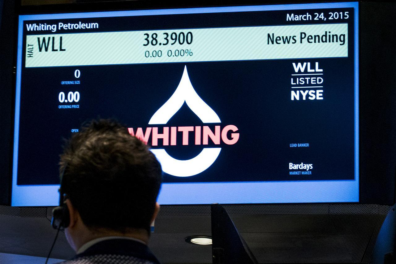 美国页岩气企业Whiting申请破产 系油价暴跌以来首宗