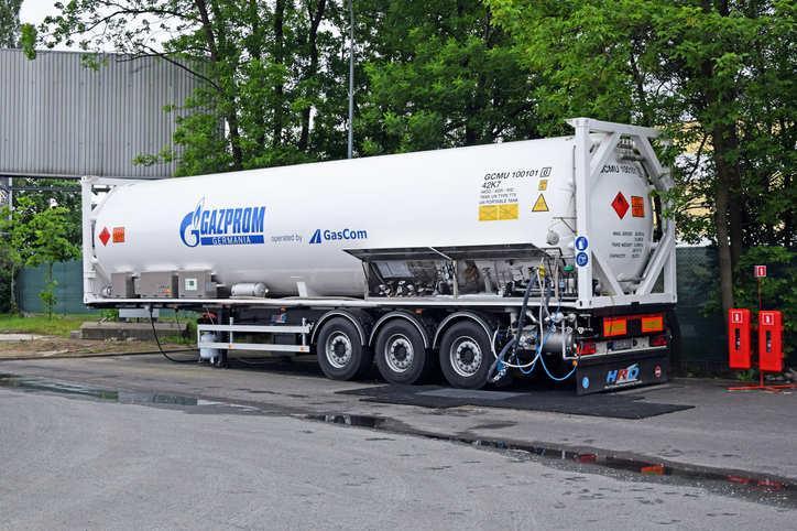 1-2月俄罗斯Gazprom出口收入减半至50亿美元