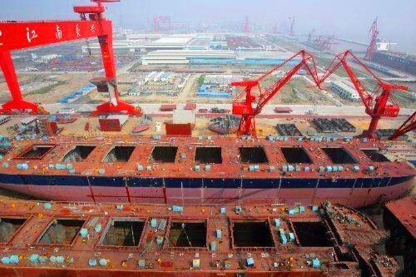 一季度重点船企总亏损3.3亿元 去年同期利润3.5亿元