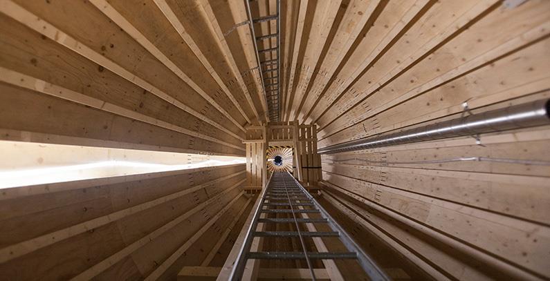 瑞典安装欧洲最高木制风塔 拟于2022年商用