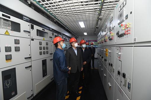 国网公司董事长毛伟明督导检查全国两会供电保障工作
