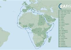 全球最大海底光纜項目之一2Africa籌建 全長37000km