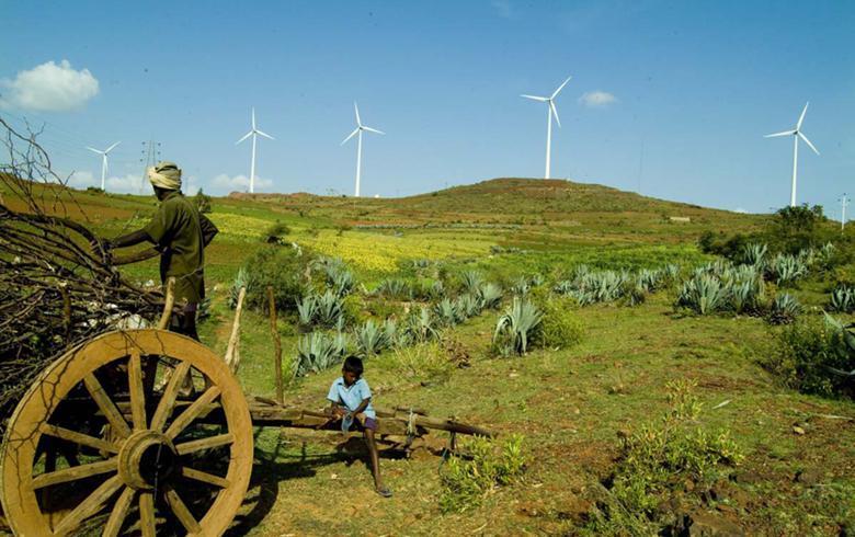 2017-18印度太阳能公司风电项目投产率不足33%