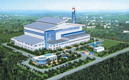山东济宁鱼台县垃圾发电工程1号机组并网发电