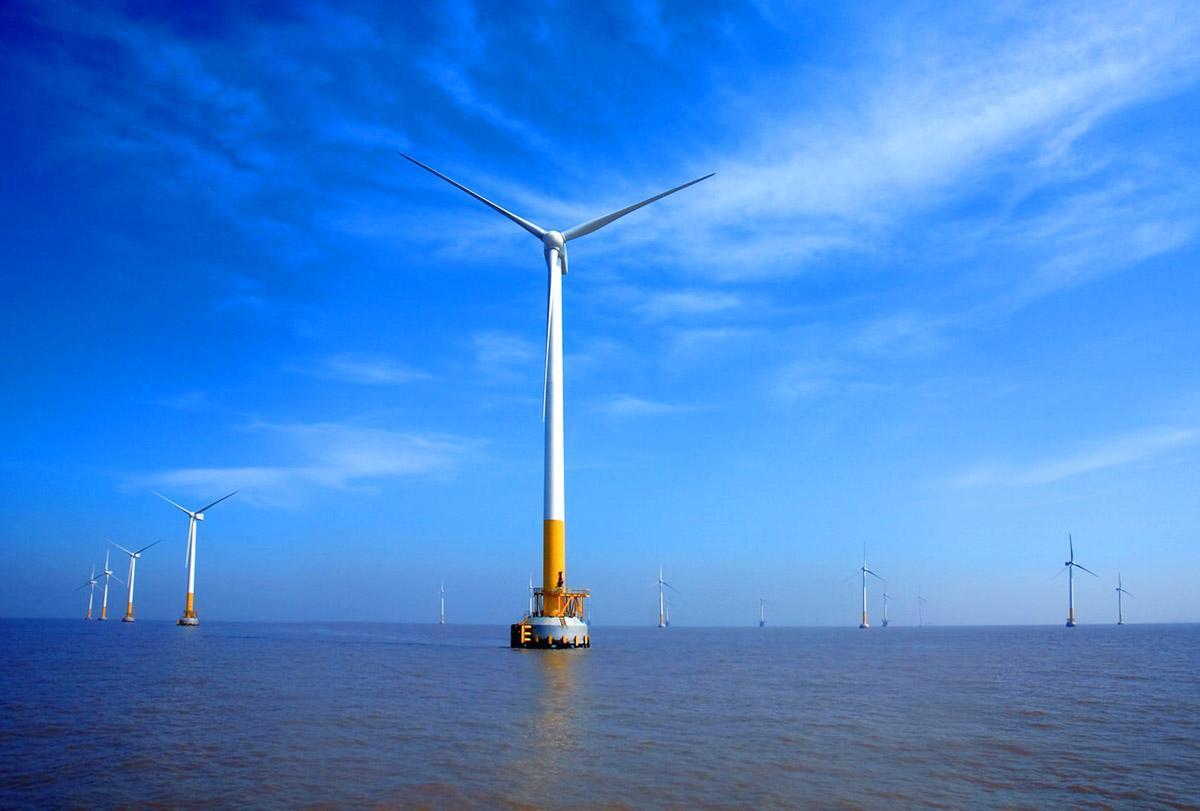 盐城大丰H5#海上风电项目获5家银行32亿共同贷款