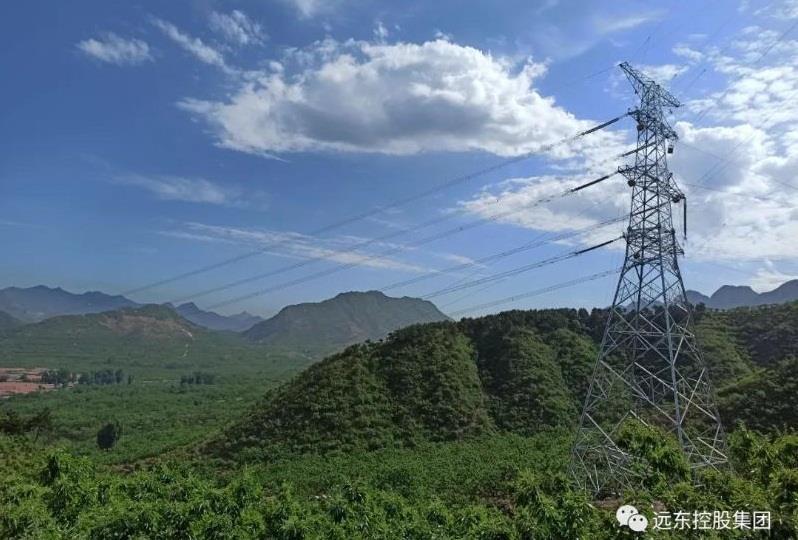 远东复合技术参建承德东至阳乐双回500 kV输变电工程全线贯通