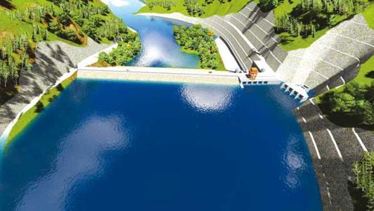 巴基斯坦SK水电站进入水轮机埋件安装阶段