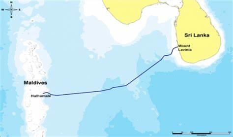 HUAWEI海洋完成马尔代夫-斯里兰卡海缆系统海事调查