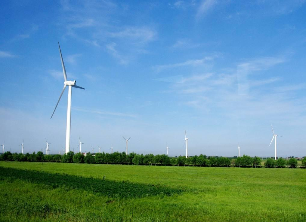乌兰察布风电项目首批升压站永久征地完成