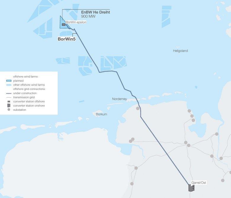 安凯特获德国北海海底直流系统BorWin5订单