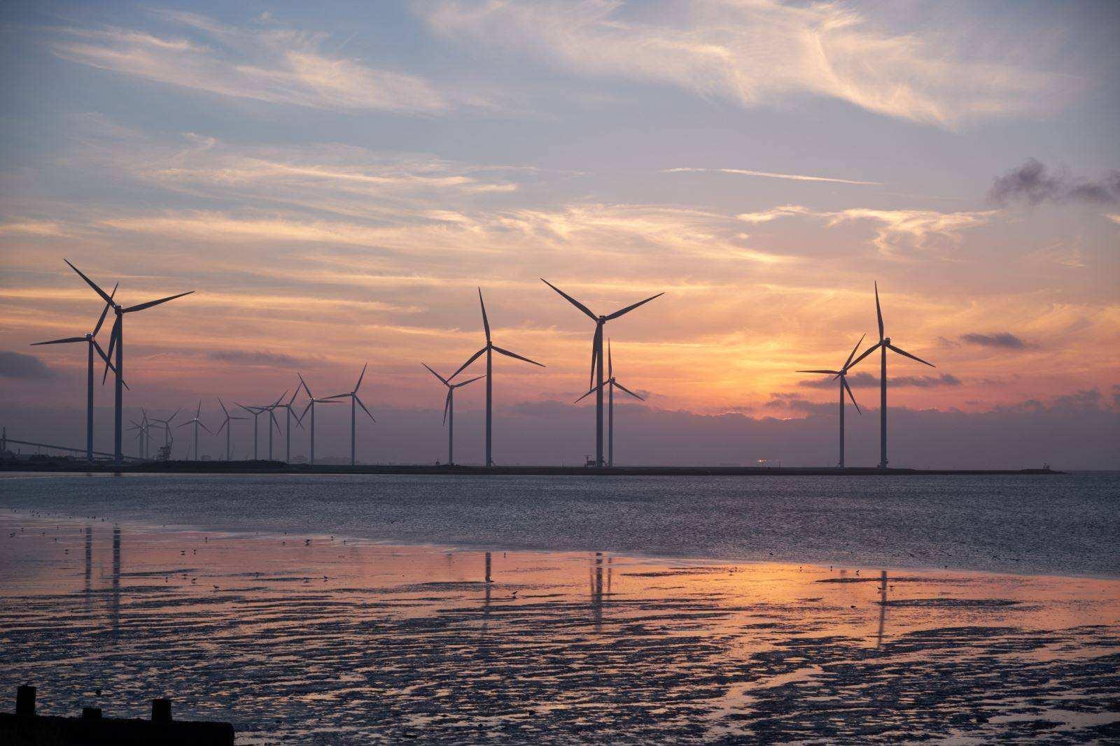 至今年6月底江苏风电并网1110万千瓦 提前完成十三五目标