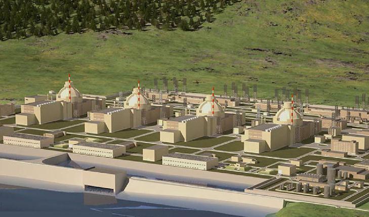 土耳其阿库尤核电站建设顺利推进