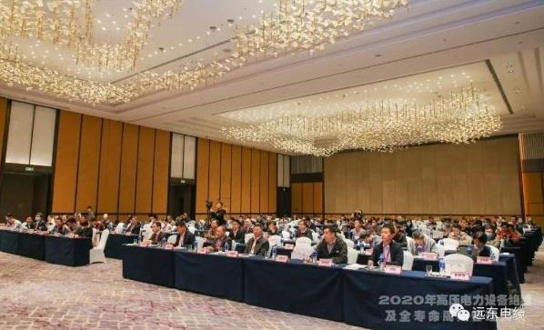 远东电缆受邀参加2020年高压电力设备绝缘及全寿命周期管理会议