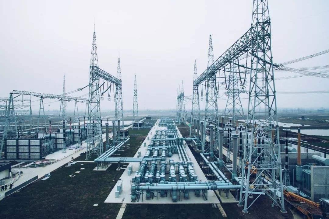 雄安新区首个500千伏电网工程开始全面组塔