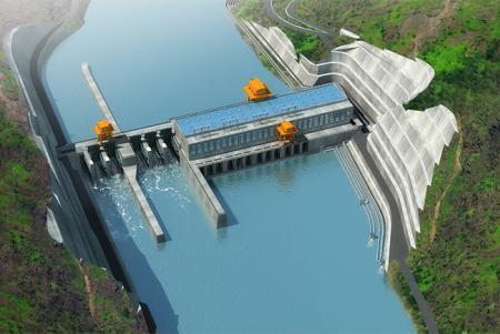金沙水电站首台机组正式并网发电
