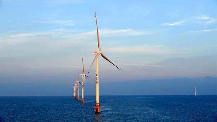 我国总装机规模最大的海上风电项目开工