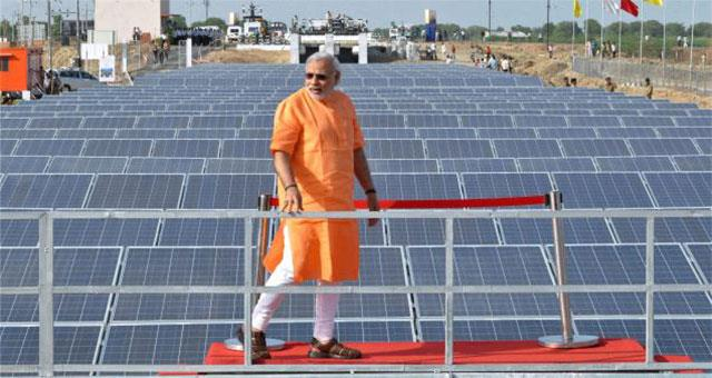 2020年印度太阳能与风电占电力需求比例增至9.3%